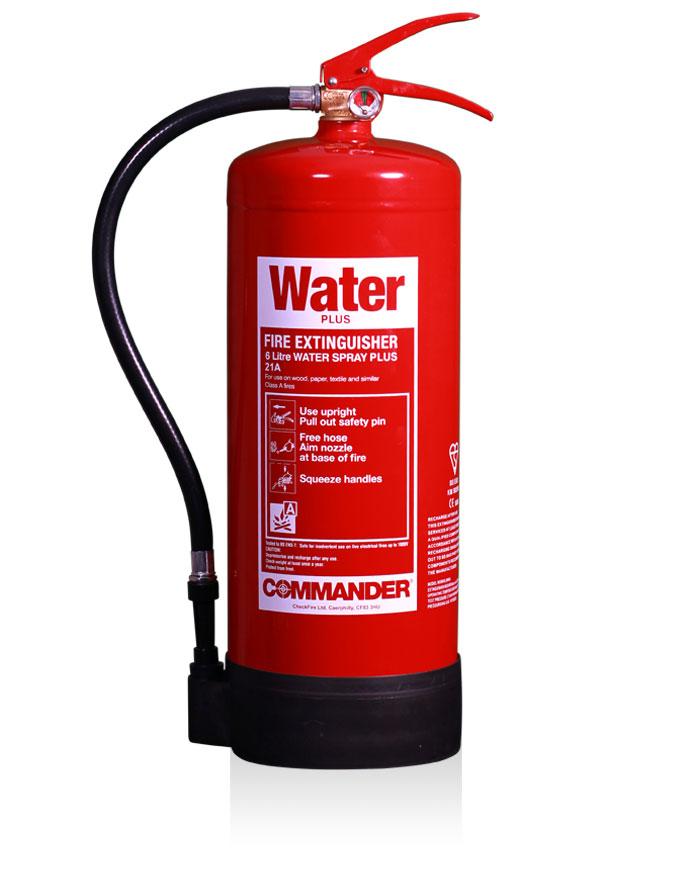 Commander Water Fire Extinguisher UK